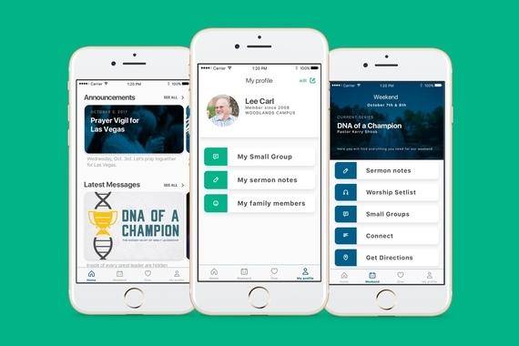 Woodlands Church iOS app
