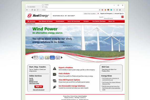 Energy Utility Company: Internet, Intranet, and Knowledge Base