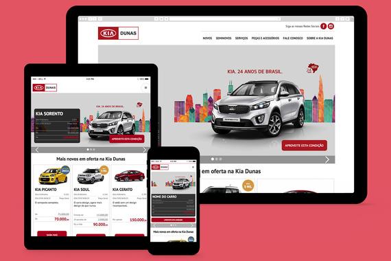 Kia Motors Car Dealership