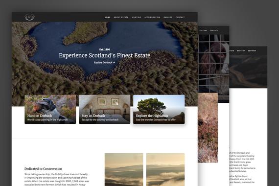 Sporting Estate Marketing Website