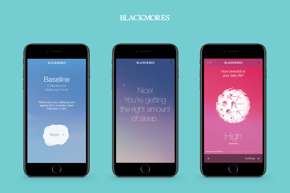 Blackmores Wellbeing Check   Immersive Game-Like Survey