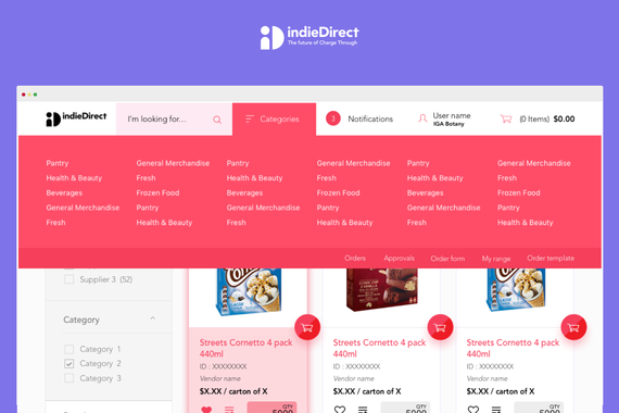 indieDirect   Marketplace for Australia's Independent Grocers