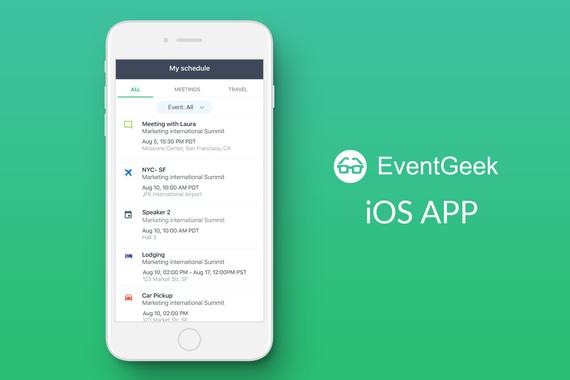 EventGeek iOS APP