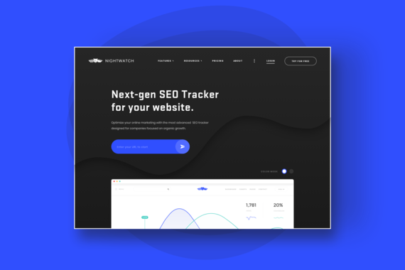 Nightwatch Landing Page