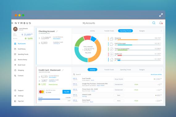 NYMBUS  |  Desktop/Mobile App
