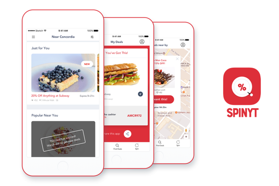Spinyt | Time-based Food Deals for Students