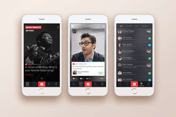 Music Impacts | Mobile App