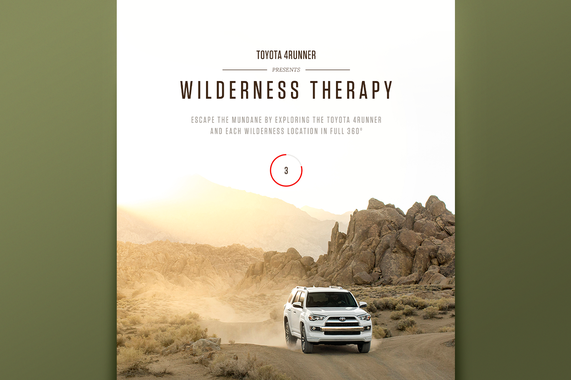 Toyota 4Runner | Wilderness Therapy Site