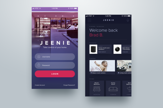 Jeenie | Smart Device Management App