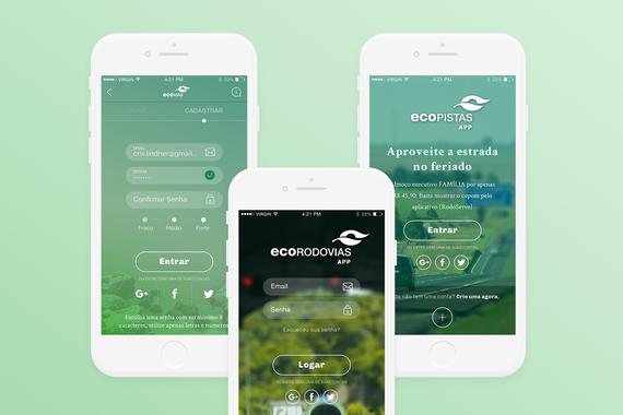 Digital Interface Design | EcoRodovias