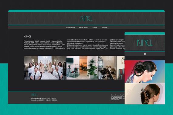 Kincl – Responsive Web Design