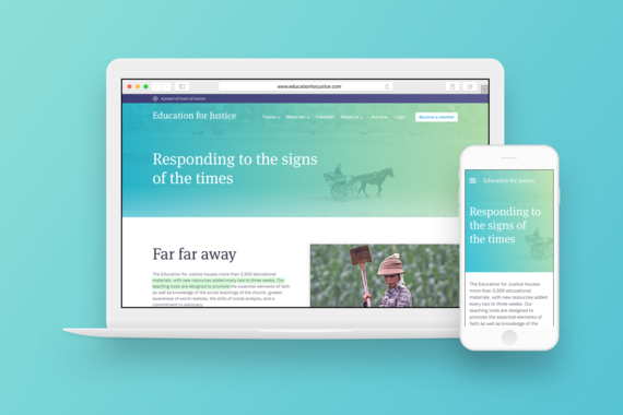 Responsive Website Redesign for a Nonprofit Organization