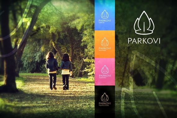 Parkovi | Rebranding for a City Park Management Company