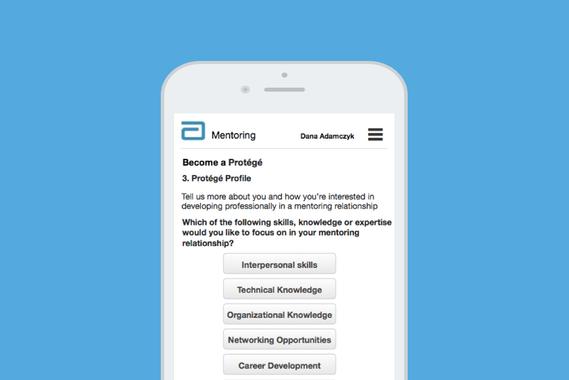 Abbott Mentor App