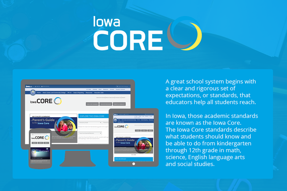 Iowa Department of Education, Core Standards