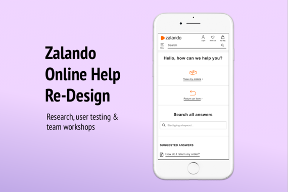 Online Help Redesign