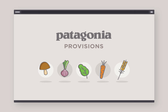 Patagonia Provisions - Animated Logo Sequence