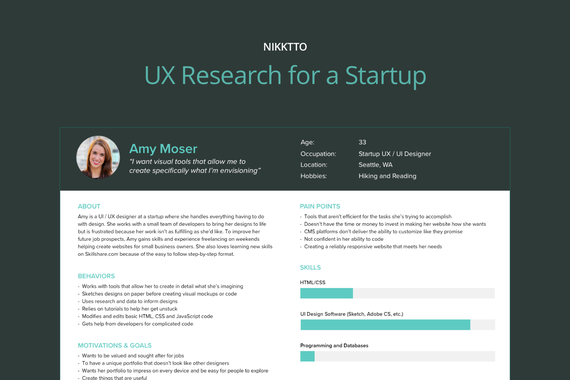 UX Research for a Startup