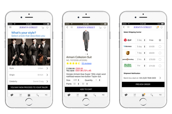 Jermyn Street Fashion App