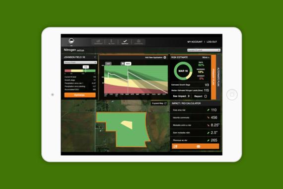 Agricultural Data Tablet App