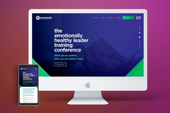 Emotionally Healthy Spirituality Conference Collateral