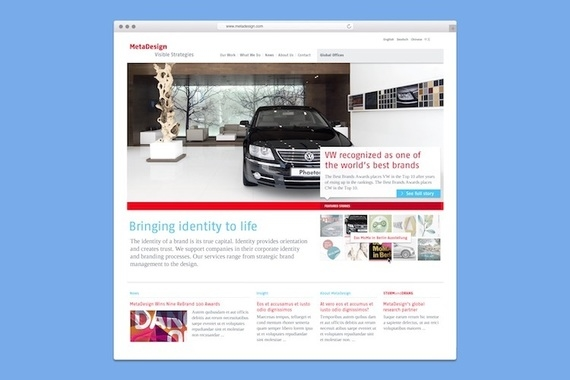 Agency Site Redesign