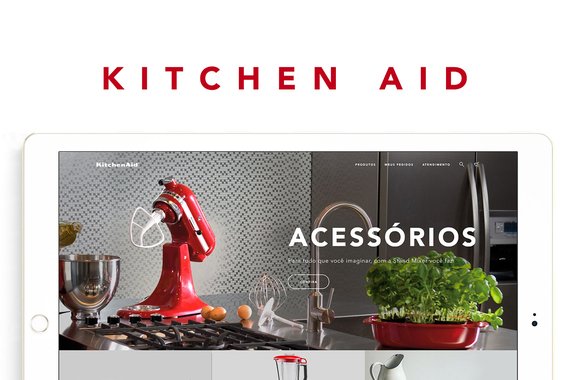 Kitchen Aid | eCommerce Redesign