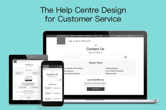 Help Centre Design