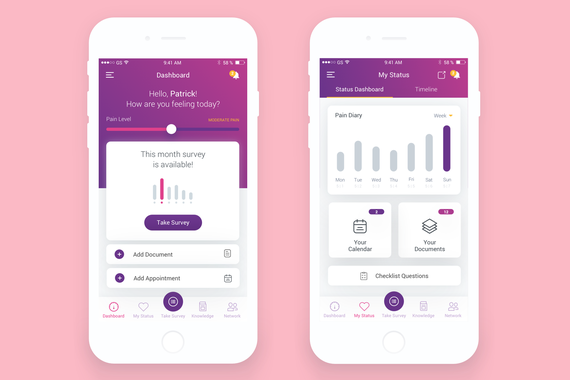 Survey and Health Care App