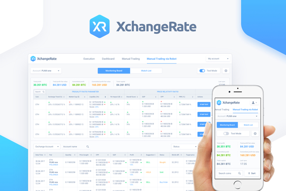 XchangeRate Robot Cryptocurrency Trading Platform