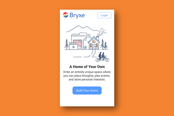 Onboarding Illustrations and Messaging for a Social Web App