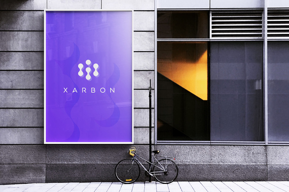 Xarbon: Blockchain Tool Logo/Brand Identity Design