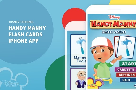 Disney Handy Manny Flash Cards App