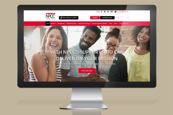 New UX for a Nonprofit Website Section