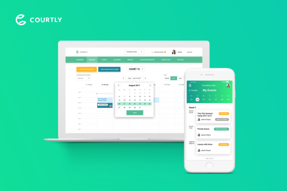Courtly | Tennis Club Management Platform
