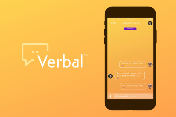 Verbal Messaging App - Brand Identity and UI Design