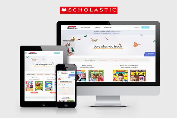 A Redesign of a Scholastic Website