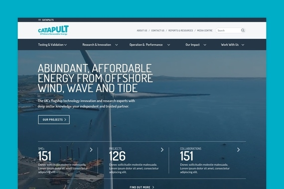 Offshore Renewable Energy Website