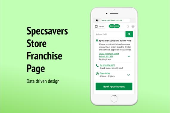 Store Page Design