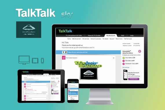 TalkTalk | Ultra Fibre Optic