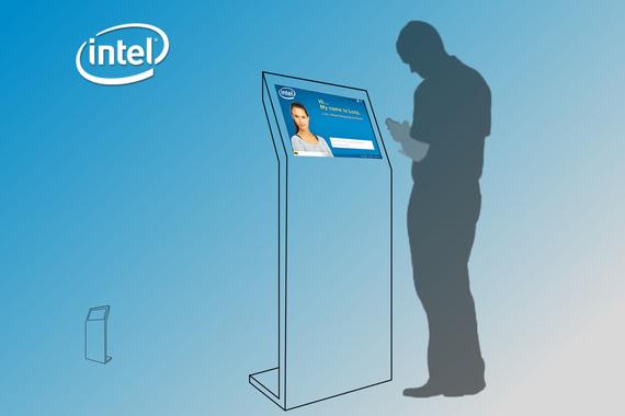 Intel | Virtual Help Kiosk (Usability Testing)