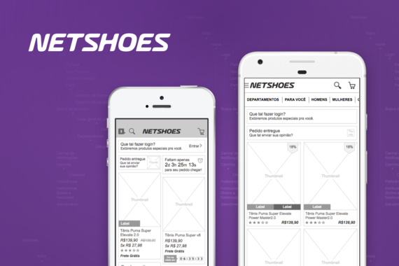 Netshoes – Mobile Apps