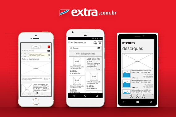 Extra.com.br – eCommerce Apps