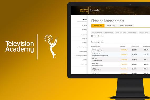 TV Academy Nominations Platform | UX and Design