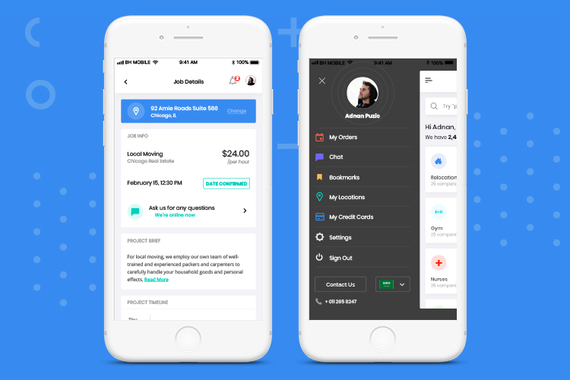 Jini | Mobile Application