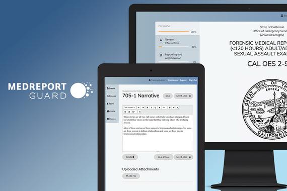 MedReportGuard Application | UX and Design