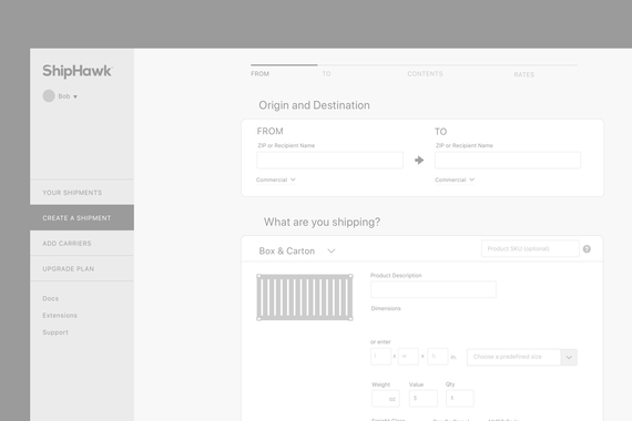 Admin System Design