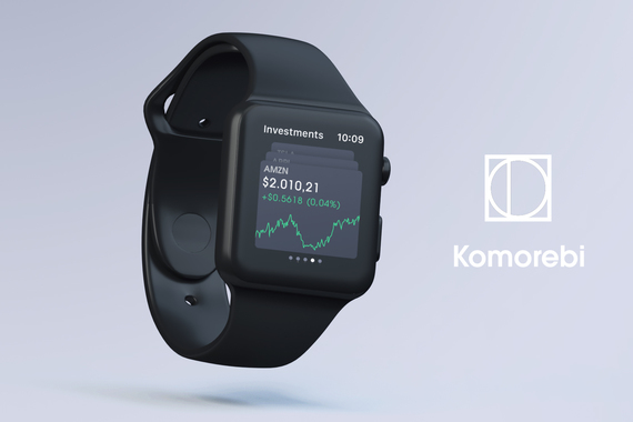 Komorebi Financial iOS Apple Watch and Mobile App