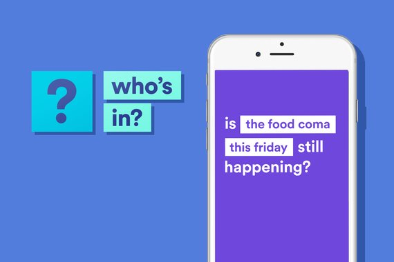 Who's In: Social Planning app