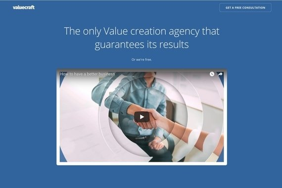 Valuecraft.co — Website and Explainer Video